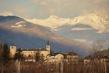 Valle d'Aosta, view on Saint Pierre town