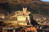 Valle d'Aosta, Castle of Saint-Pierre