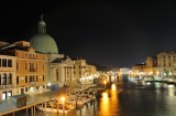 Venezia, view on San Simeone Piccolo church from Scalzi bridge