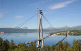 Narvik, construction of the new bridge