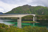 Lofoten islands,the Raftsund Bridge