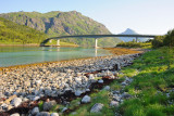 Lofoten islands, Vesterstraumen bridge