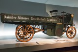 Daimler motorized truck