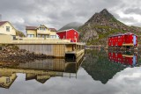 Norway - wooden houses and cabins