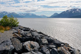Looking across Turnagain Arm, from the Seward Highway