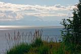 Mount Redoubt, across Cook Inlet