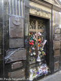 Recoleta cemetery - Eva Peron