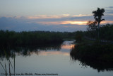 Sunrise in the Everglades