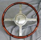 Custom Bespoke Wood Steering Wheel for Delahaye