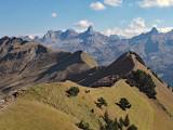 Hiking around Stoos area in Switzerland