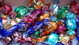 Chocolates - not as many as when the box was opened!