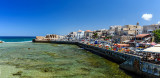 Ancient Acre Harbor - panorama
