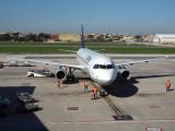 Lufthansa A321 at Naples