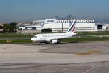 Air France A318-111 at Naples