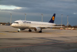 Lufthansa Embraer jet at Munich