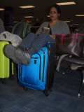 Waiting in Dulles Airport