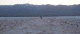 Badwater moves, Death Valley