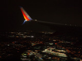 Coming in for landing at BWI