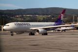 Hawaiian Boeing 767 at SFO