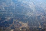 Over Des Moines, Iowa