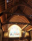 Inside Dahlgren Chapel, Georgetown University, Washington, DC