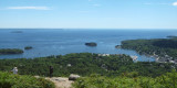 Panorama - From Mt. Battie in Camden Hills State Park, ME
