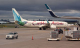 Carribean Airlines Boeing 737-8Q8 at Toronto Lester Pearson Airport