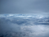 Clouds in the sky - flight from DC to Toronto
