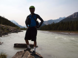 Canadian Rockies bike ride - Second day