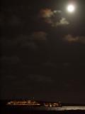 From Finch Bay Resort in the night
