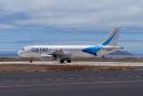 Baltra airport, Galapagos - TAME Airlines A320-200