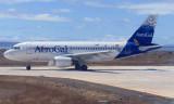 Baltra airport, Galapagos -  - Avianca Airbus A319-112