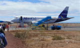 Baltra Airport, Galapagos - Avianca Airbus A319-112