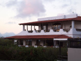 The Finch Bay Hotel where we stayed