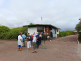 Ticket booth for the Charles Darwin Research Center, Puerto Ayora, Galapagos