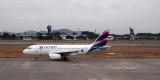 Guayaquil airport scene - LATAM Ecuador Airbus A319-132