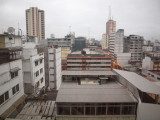 View out of hotel room in Guayaquil, Ecuador