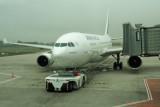 Pushback of an Air France A330 at CDG