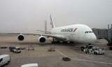 Air France Airbus A380 at CDG