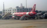 Air Asia A320 at Bangalore airport