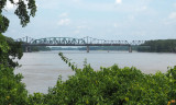 The Missouri river from the Katy trail