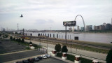 St. Louis from Eads bridge across the river