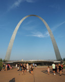 The entrance to the new visitor Center at the Arch, St. Louis