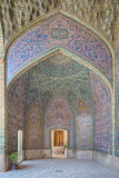 Nasir ol Molk Mosque doorway - Shiraz
