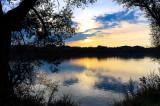 Vistula River Sunset