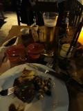 Farwell dinner on El Gaucho