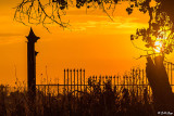 Sunset over Kellogue Creek Gate  3