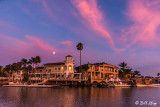 Moon over Lido Bay  12 -- 2019 Town of Discovery Bay Calendar Winner