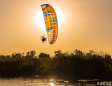 Paramotor Sunset 24  -- 2019 Town of Discovery Bay Calendar Winner