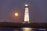 Moon over Discovery Bay Lighthouse  26